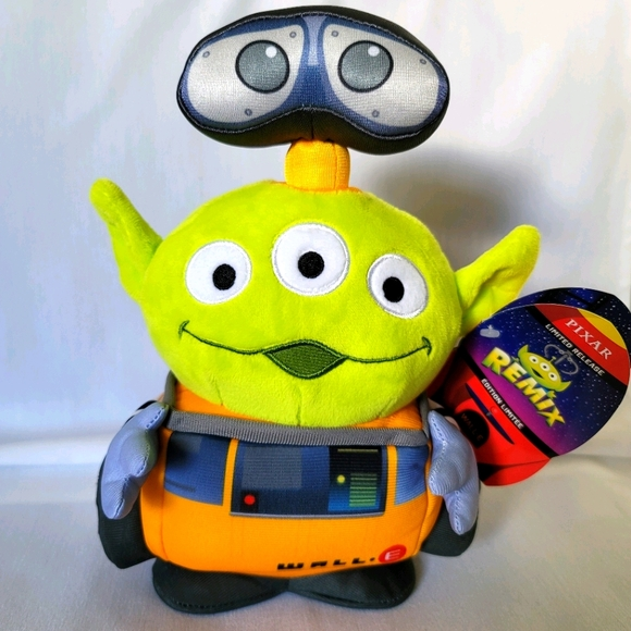 Disney Pixar Toy Story Alien Wall-E Remix Plush